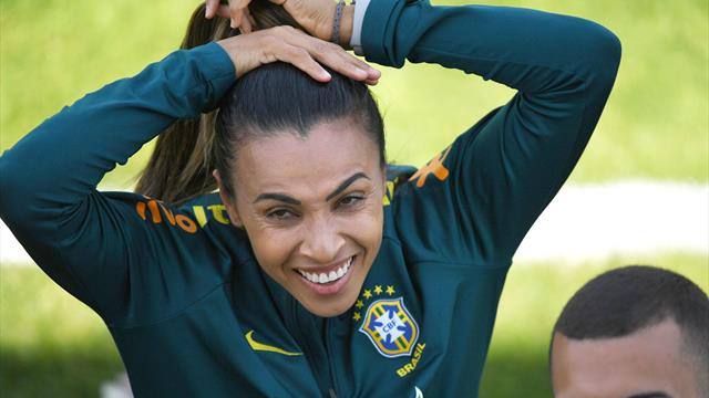 Cristiane, Formiga set records in Brazil victory
