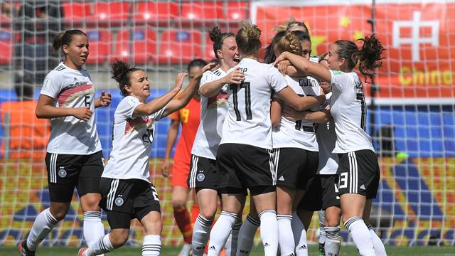 Superb Gwinn strike sees Germany triumph over stubborn China in opener
