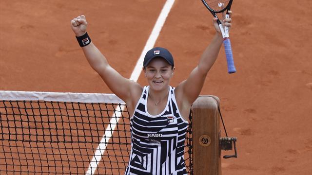 Overlegen Barty vant sin første Grand Slam-tittel