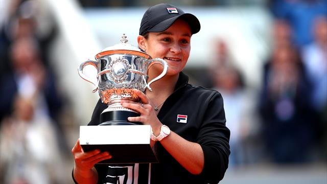 Barty wins French Open with victory over Vondrousova