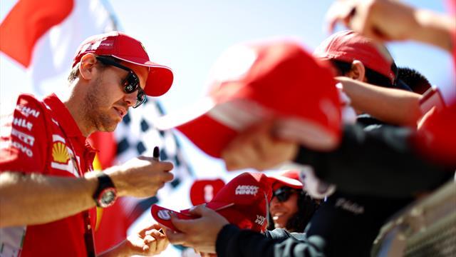 Vettel puts Ferrari on pole at Canadian Grand Prix