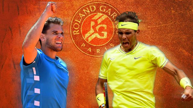 What must Thiem do to dethrone Nadal at Roland Garros?