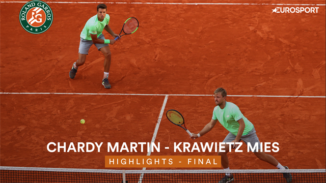 Highlights: Krawietz-Mies clinch doubles title