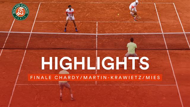 Triumph im Finale: So holten sich Krawietz/Mies den Doppel-Titel