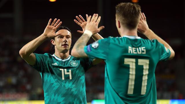 """""""Der erste Schritt ist getan"""": DFB-Elf feiert souveränen Erfolg in Weißrussland"""