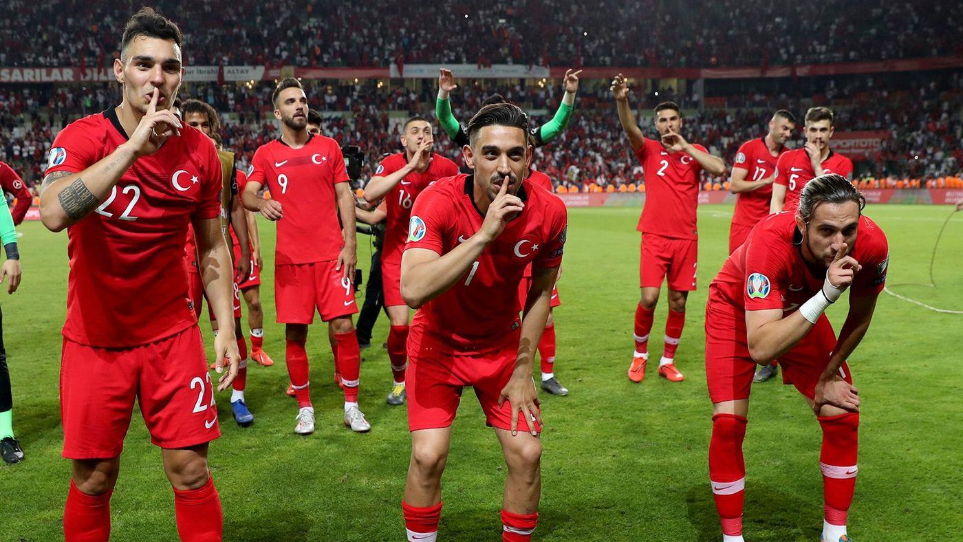 Turkey celebrate