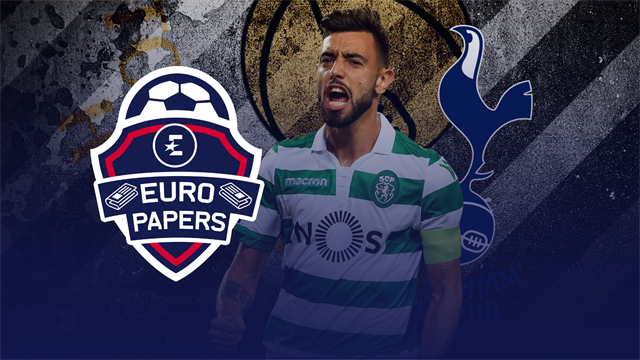 Euro Papers: Spurs-bound Fernandes humiliates United