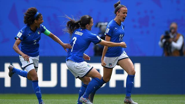 Italia da sogno all'esordio Mondiale: doppietta di Bonansea, 2-1 all'Australia!