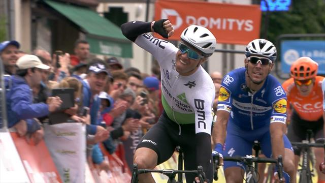 'Oh my word, who saw that coming' Boasson Hagen produces powerhouse finish to claim win