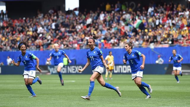 L'Italie s'offre l'Australie !