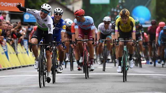 Mit Video | Critérium du Dauphiné: Boasson Hagen sprintet zum Auftaktsieg