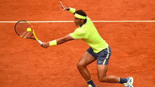 Roland-Garros 2019: La increíble volea con retroceso de Nadal, uno de los puntos del torneo
