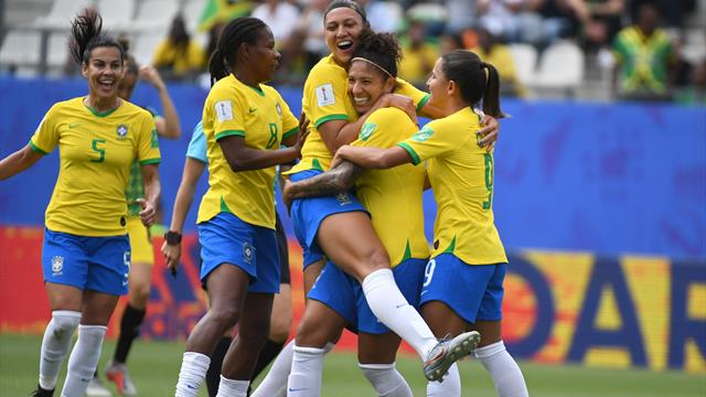 Victoire tranquille du Brésil face à la Jamaïque