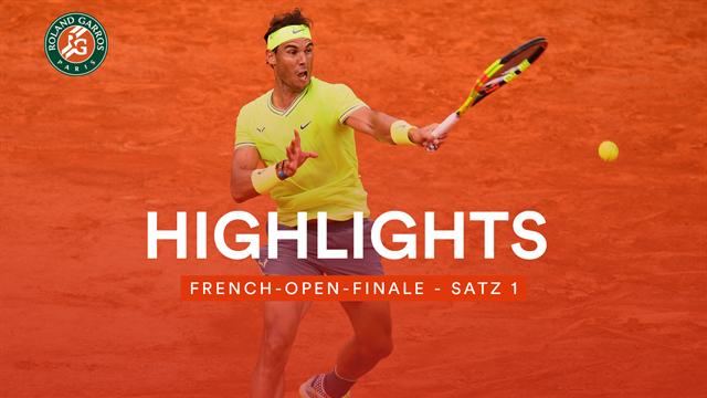 Nadal und Thiem komplett entfesselt: Die Highlights des ersten Satzes