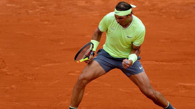 Fransa'da sıradan bir gün: Rafael Nadal 12. kez Roland-Garros şampiyonu