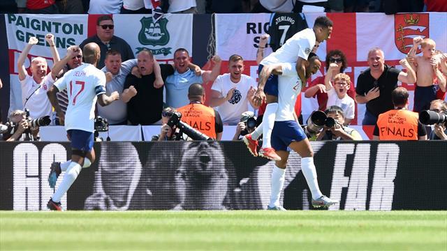 L'Angleterre n'a pas volé sa place sur le podium