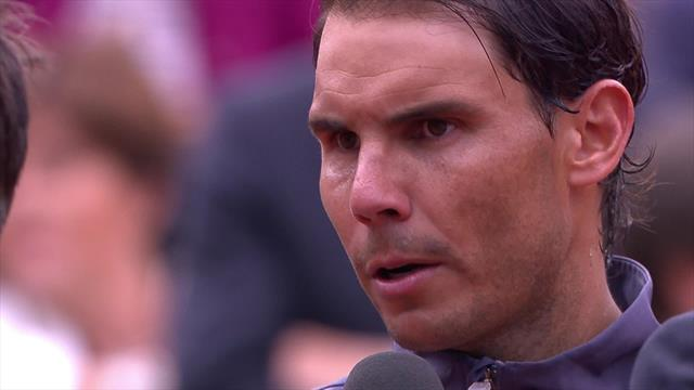 Nadal - 'It was a dream to play in Paris in 2005 and it has continued to be a dream'