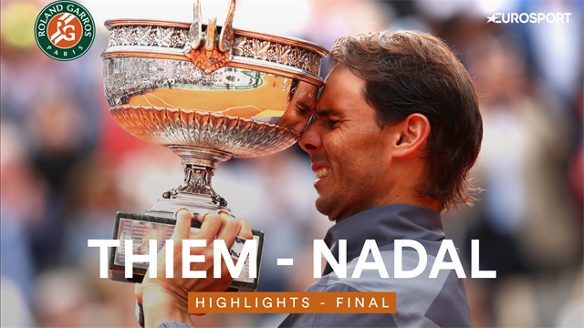 Highlights - Nadal made to work by Thiem for historic 12th title at Roland Garros