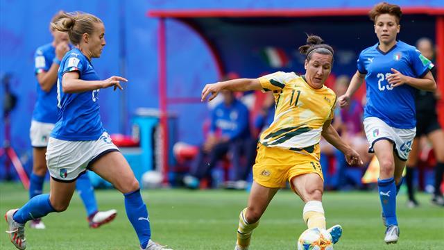 WM-Mitfavorit Australien patzt - England und Brasilien siegen