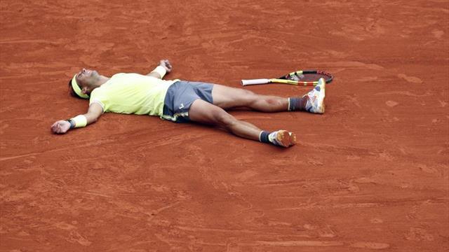 """El rey celebra el duodécimo Roland Garros de Nadal: """"No hay otro como tú"""""""