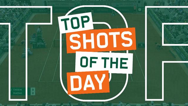 Top 5: i colpi più belli della finale tra Nadal e Thiem, che potenza!