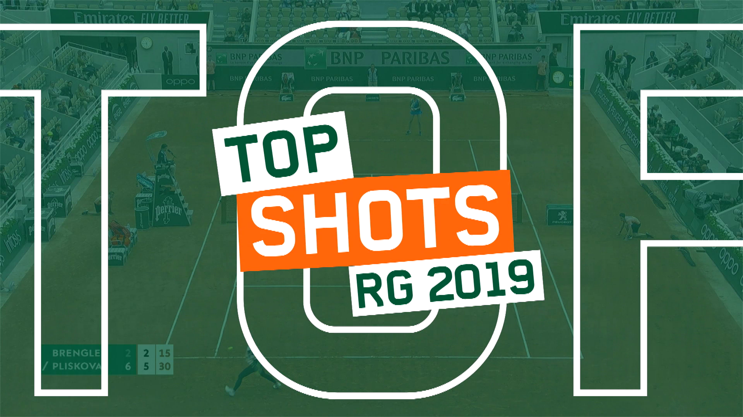 Топ-десять самых лучших ударов на Ролан Гаррос в 2019 году (ВИДЕО)