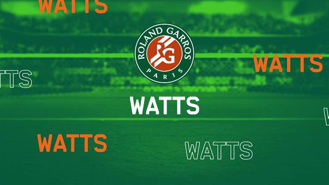 Roland-Garros2019: Watts, los momentos más divertidos del torneo