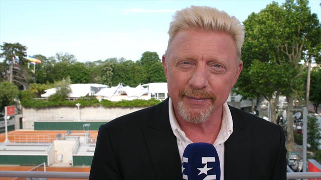 """Beckers Bilanz: """"Mit deutschen Leistungen sehr zufrieden!"""""""