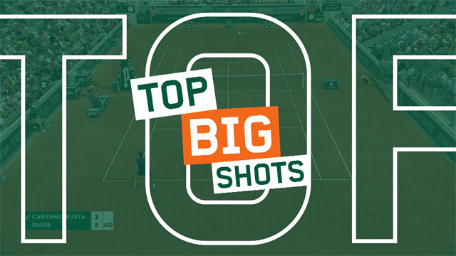 Roland-Garros2019, Top 10: Nadal, Halep, Thiem... Los mejores puntos del torneo