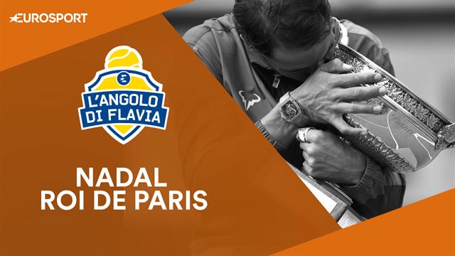 """L'Angolo di Flavia: """"Nadal incredibile! Rafa riuscirà a superare gli Slam di Federer?"""""""