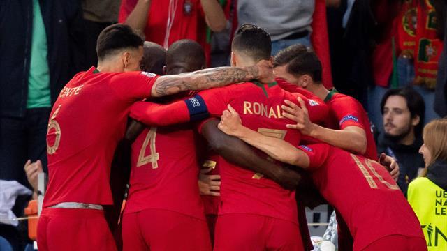 Португалия первой в истории выиграла Лигу наций, у Роналду второй кубок со сборной