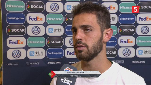 Bernardo Silva: Vi er et fantastisk hold med en fantastisk manager