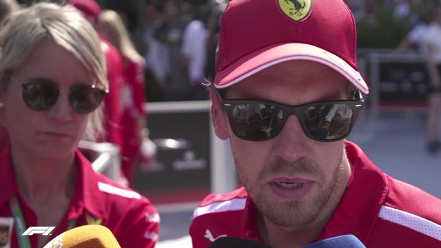 """Vettel: """"Non abbiamo commesso alcun errore, siamo arrivati primi ma non possiamo festeggiare"""""""