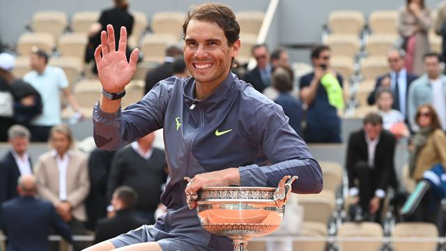 Nadal: 'Federer record doesn't bother me, dodgy knees cost me 15 Grand Slams'