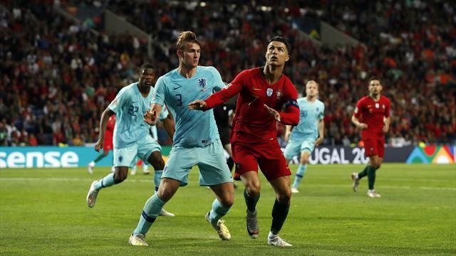 De Ligt: Ronaldo asked me to join Juventus
