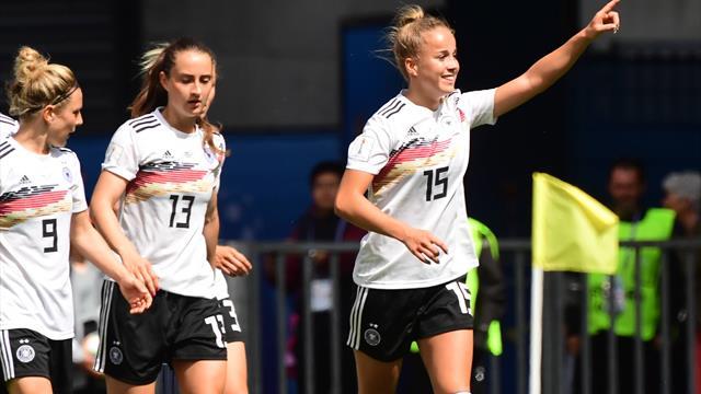Frauen-WM: So lief Deutschland - Spanien