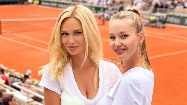 Лопырева приехала на женский ЧМ по футболу, но заглянула на финал «РГ» поздравить Надаля