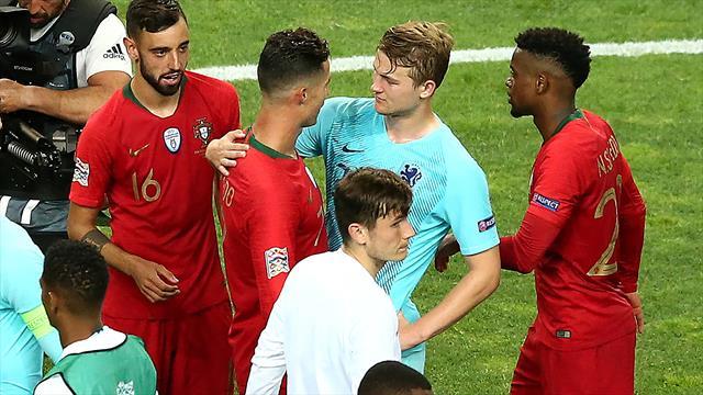 """Ronaldo ködert de Ligt - der reagiert """"geschockt"""""""