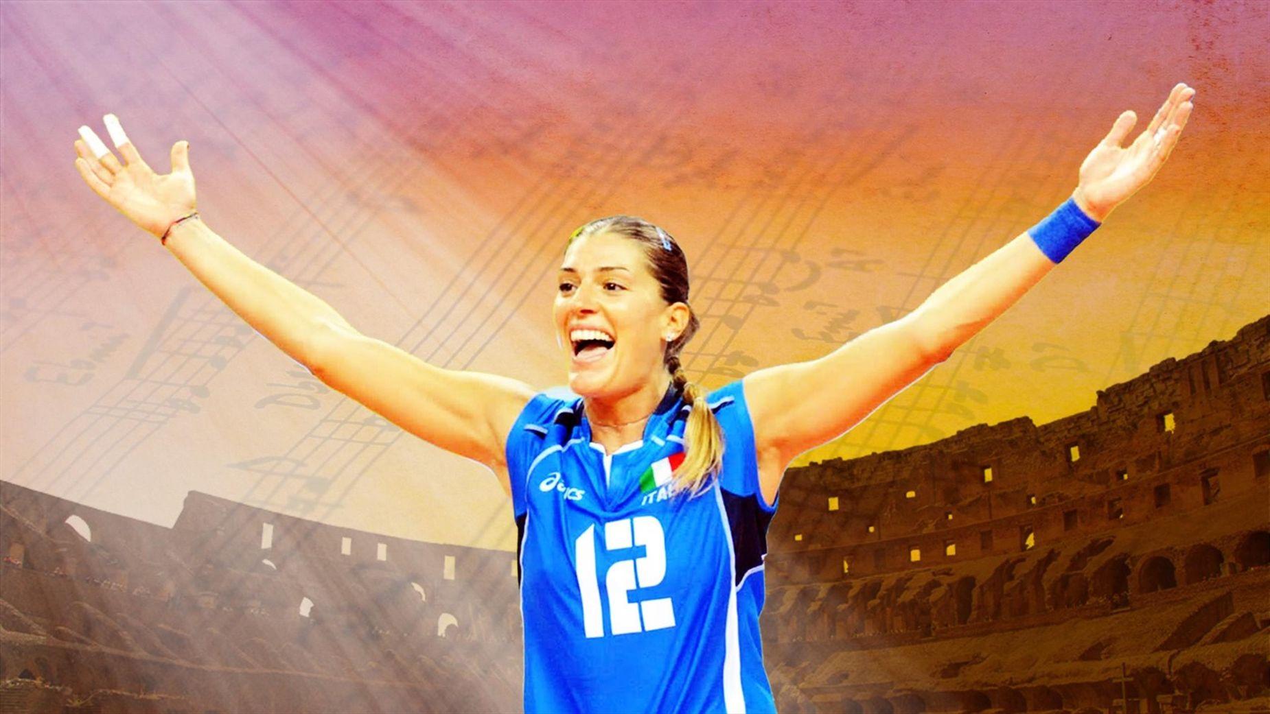 Francesca Piccinini Calendario.Francesca Piccinini La 7a Sinfonia Della Regina Del Volley