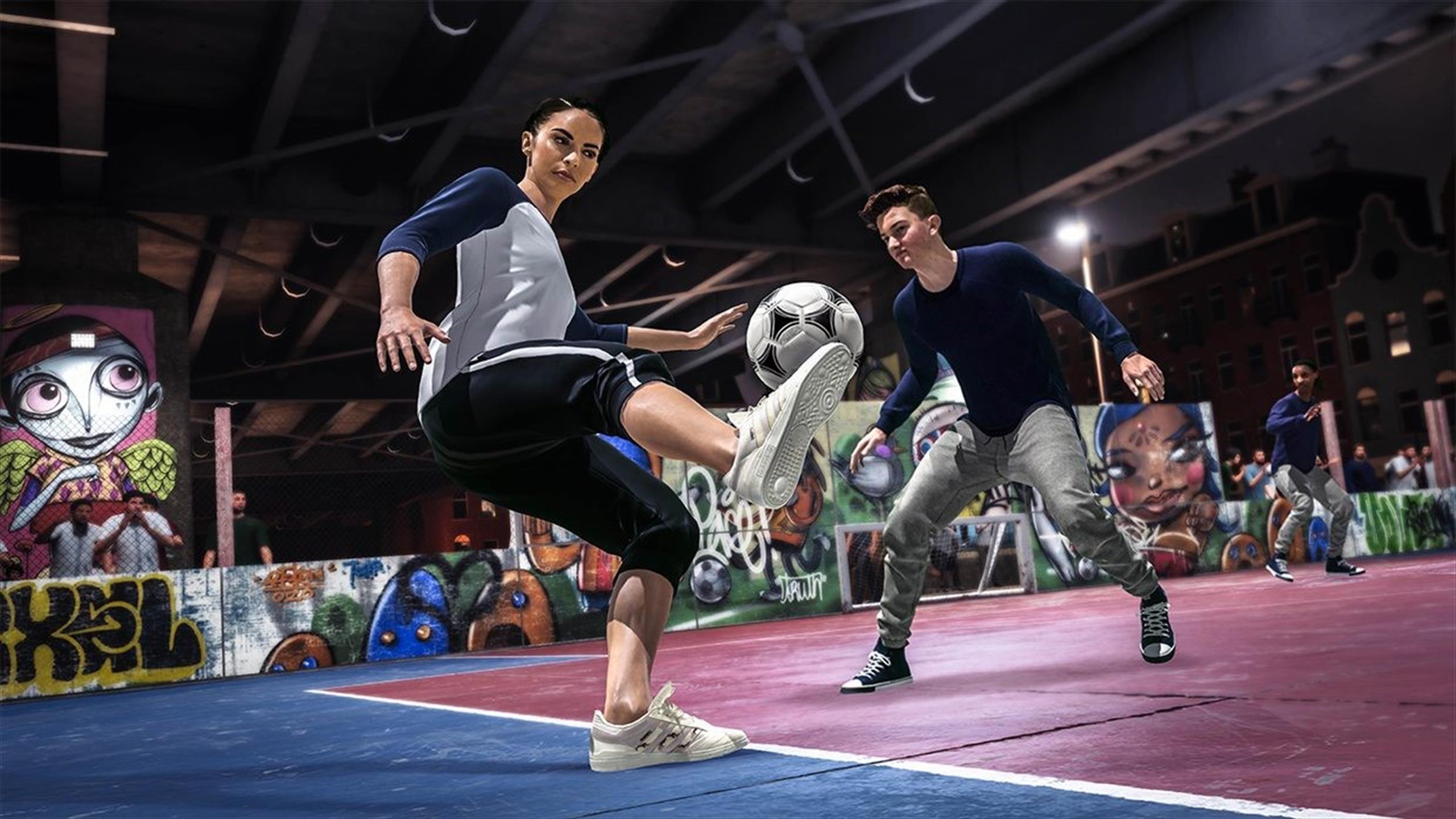Street, foot à 5 ou futsal  dans le jeu vidéo FIFA 20, il y