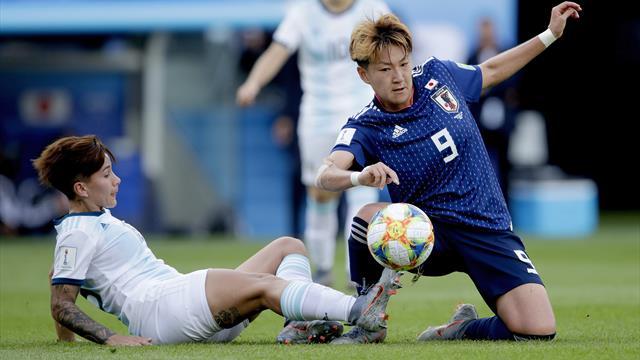 Le Japon met la pression sur l'Angleterre