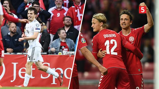 Highlights: Dolberg blev dobbelt målskytte i Danmarks nedslagtning af Georgien