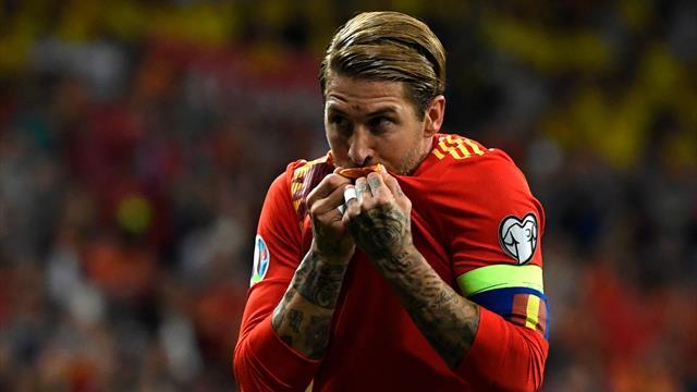 Ramos hailed as 'role model' before appearance landmark