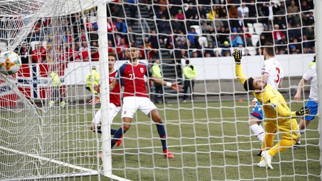 Maars Johnsen-dobbel fikset tre poeng da Norge slet med Færøyene