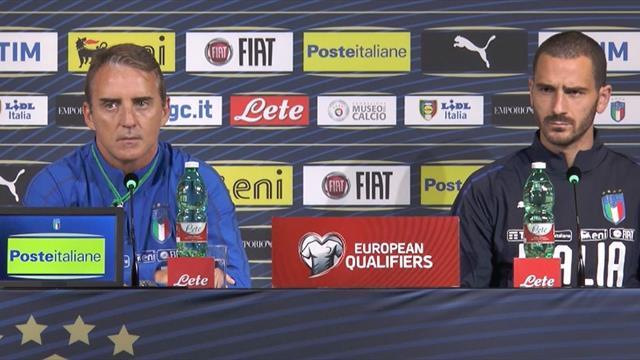 """Mancini: """"Cosa è cambiato alla Nazionale in un anno? Trovare i giovani e farli giocare"""""""