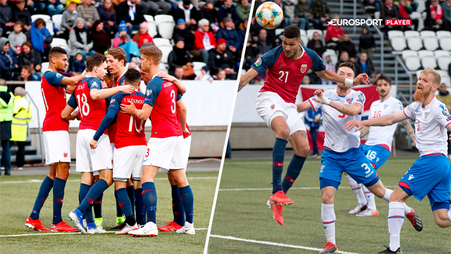 Highlights: Norge sejrede i nordisk duel med Færøerne