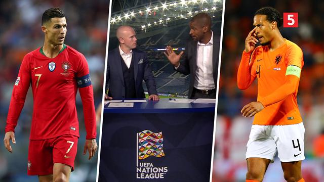 Ronaldo vs. Van Dijk: Bischoff dissekerer nøgleduellen fra Nations League-finalen