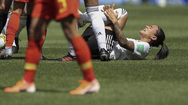 Marozsan ruled out of World Cup group phase