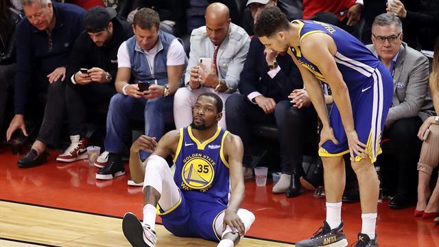 Rottura del tendine d'Achille per Kevin Durant: operazione ok, si profila un anno di stop