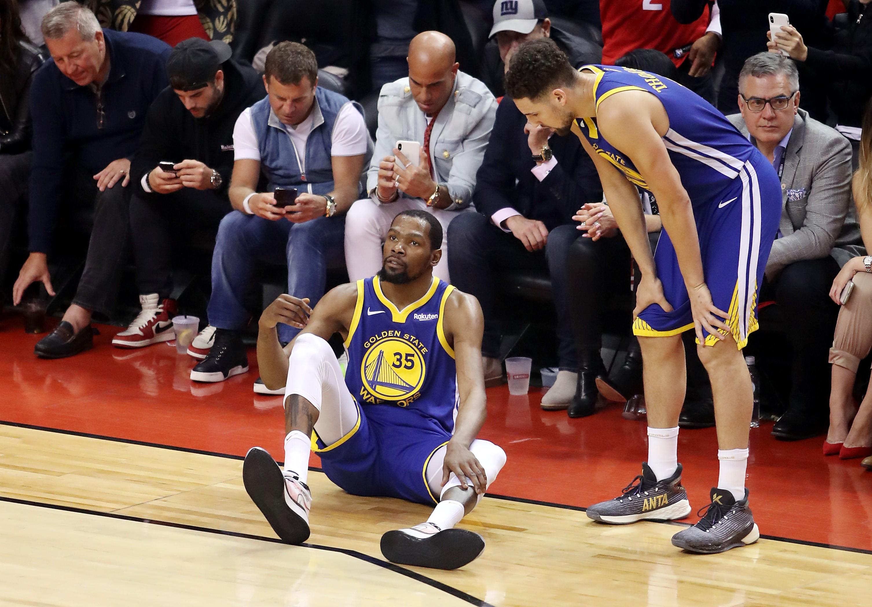 Kevin Durant, Raptors-Warriors, 5. maç, 2019 NBA Finali